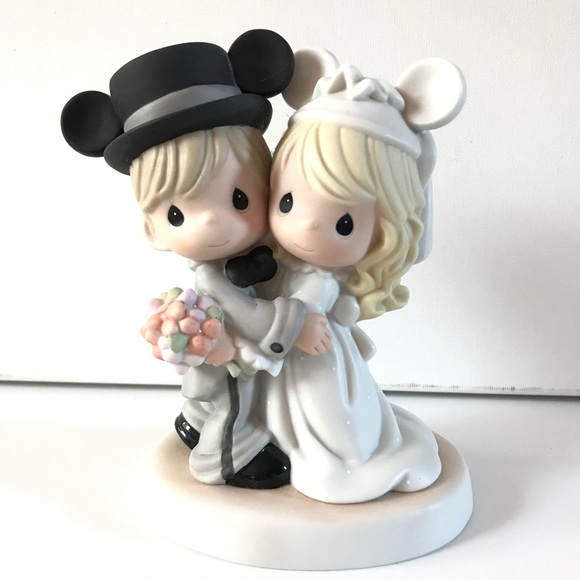 Precious Moments Disney Wedding Bride Figurine